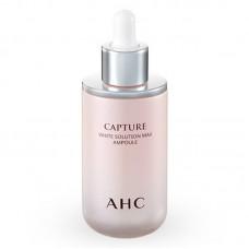 Выравнивающая тон кожи антивозрастная сыворотка A.H.C Capture White Solution Max Ampoule