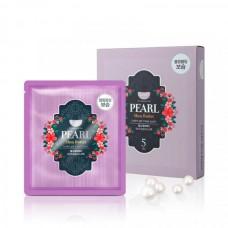 Гидрогелевая маска для лица с маслом ши и жемчужной пудрой Koelf Pearl & Shea Butter Mask