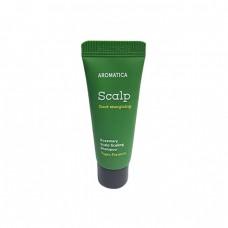 Бессульфатный укрепляющий шампунь с розмарином Aromatica Rosemary Scalp Scaling Shampoo Miniature
