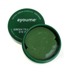 Гидрогелевые патчи Ayoume Green Tea + Aloe Eye Patch