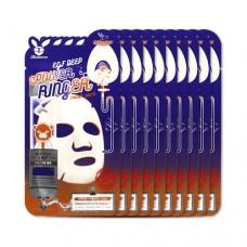 Увлажняющая тканевая маска с эпидермальным фактором роста Elizavecca EGF Deep Power Ringer Mask Pack