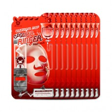 Увлажняющая тканевая маска с коллагеном Elizavecca Collagen Deep Power Ringer Mask Pack