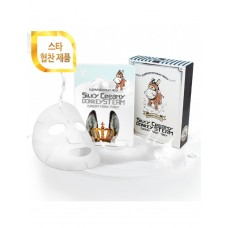 Поживна тканинна маска Elizavecca Silky Creamy Donkey Steam Cream Mask Pack