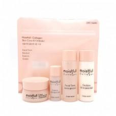 Набор мини-средств с коллагеном Etude House Moistfull Collagen Skin Care Kit