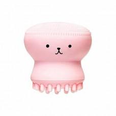 Силиконовая щетка для очистки пор и массажа лица Etude House My Beauty Tool Exfoliating Jellyfish Silicon Brush