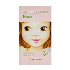 Очищающий патч для носа Etude House Greentea Nose pack AD