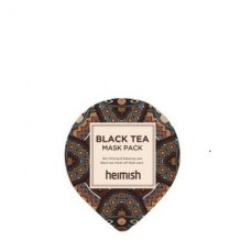 Лифтинг-маска против отеков Heimish Black Tea Mask Pack Sample