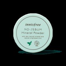 Бесцветная рассыпчатая пудра Innisfree No sebum Mineral Powder