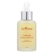 Осветляющая ампула с витамином С и ниацинамидом IsNtree C-Niacin Toning Ampoule