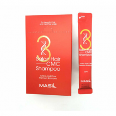 Восстанавливающий профессиональный шампунь с керамидами Masil 3 Salon Hair CMC Shampoo - 8ml