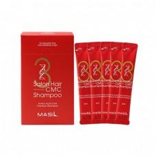 Восстанавливающий профессиональный шампунь с керамидами Masil 3 Salon Hair CMC Shampoo - 1 Pack (8ml * 20 ea)