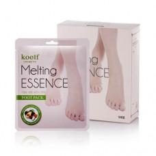 Маска-носочки для ног с маслами и экстрактами Koelf Melting Essence Foot Pack