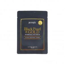 Гидрогелевые патчи Petitfee Black Pearl & Gold Hydrogel Eye Patch 2pcs
