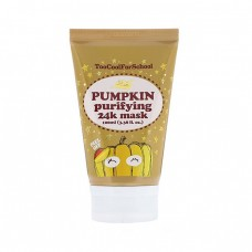 Тыквенная маска-пленка с золотом Too Cool For School Pumpkin Purifying 24K Mask