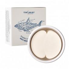 Антивозрастные патчи с коллагеном плавника акулы Trimay Shark's Fin Collagen Anti-wrinkle Eye Patch