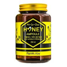 Ампульная сыворотка с медом FarmStay All-in-One Honey Ampoule 250 ml
