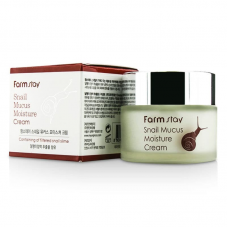 Увлажняющий крем с экстрактом слизи улитки Farm Stay Snail Mucus Moisture Cream