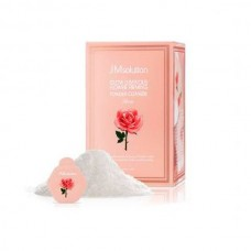 Энзимная пудра с розовой водой JMsolution Glow Luminious Flower Firming Powder Cleanser Rose