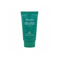 Увлажняющий солнцезащитный крем для лица и тела JMsolution Marine Luminous Pearl Sun Cream Pearl