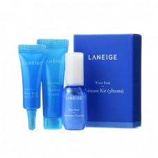 Набор увлажняющих средств для лица (миниатюры) Laneige Water Bank Moisture Kit (3 Items)