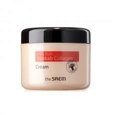 Коллагеновый крем для лица с экстрактом баобаба The Saem Care Plus Baobab Collagen Cream