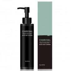 Гибридное гель-масло для глубокого очищения кожи The YEON Charcoal Black Deep Cleanser